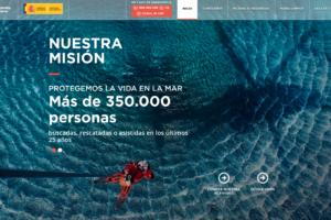 Web Salvamento Marítimo (Ministerio de Fomento)