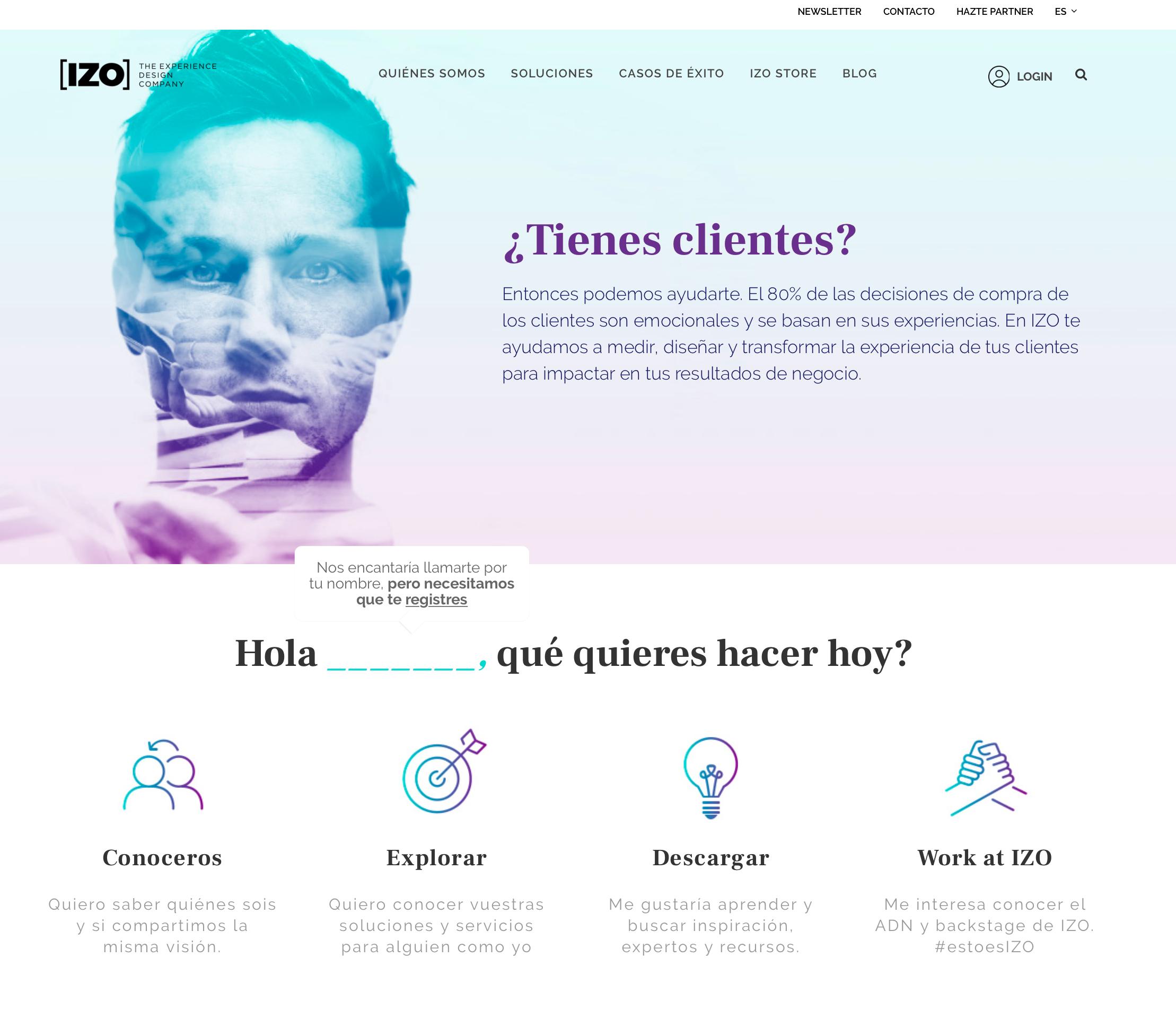 Captura web IZO