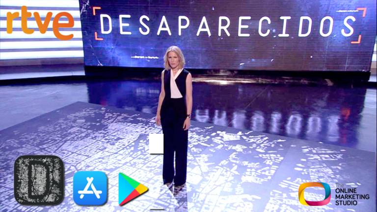 Descarga app Desaparecidos de La 1 de TVE