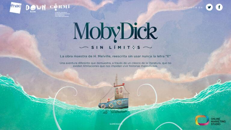 Portada web Moby Dick Sin Límites